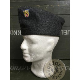 DANISH CIVIL DEFENSE WOOL GARRISON CAP NEW