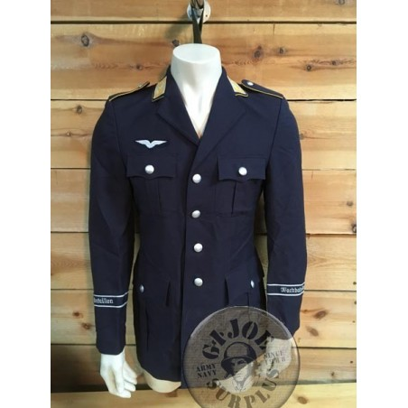 "GERMAN LUFTWAFFE OFF DUTY UNIFORM JACKET ""WATCHBATALLION"""