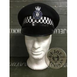GORRA PLAT POLICIA BRITANIC SUFFOLK /PEÇA UNICA