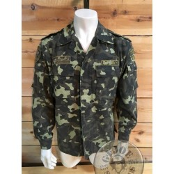 UKRANIAN FLORA CAMO COMBAT JACKET /COLLECTORS ITEM