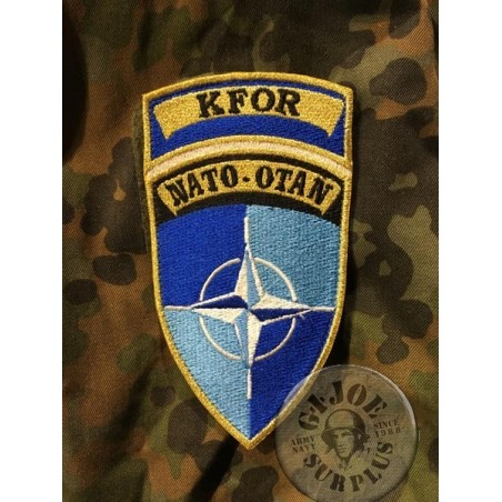 GERMAN ARMY VELCRO KFOR PATCH
