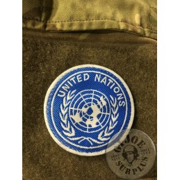 "BRITISH ARMY ""UN"" PATCH NEW"