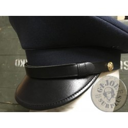 LEATHER CHINSTRAPS FOR OFFICERS CAPS NEW