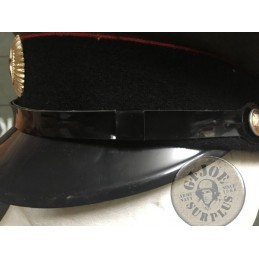 PVC CHINSTRAPS FOR OFFICERS CAPS NEW