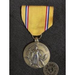 "MEDALLA USA WWII ""DEFENSE OF THE AMERICAS"" USADA /PIEZA UNICA"