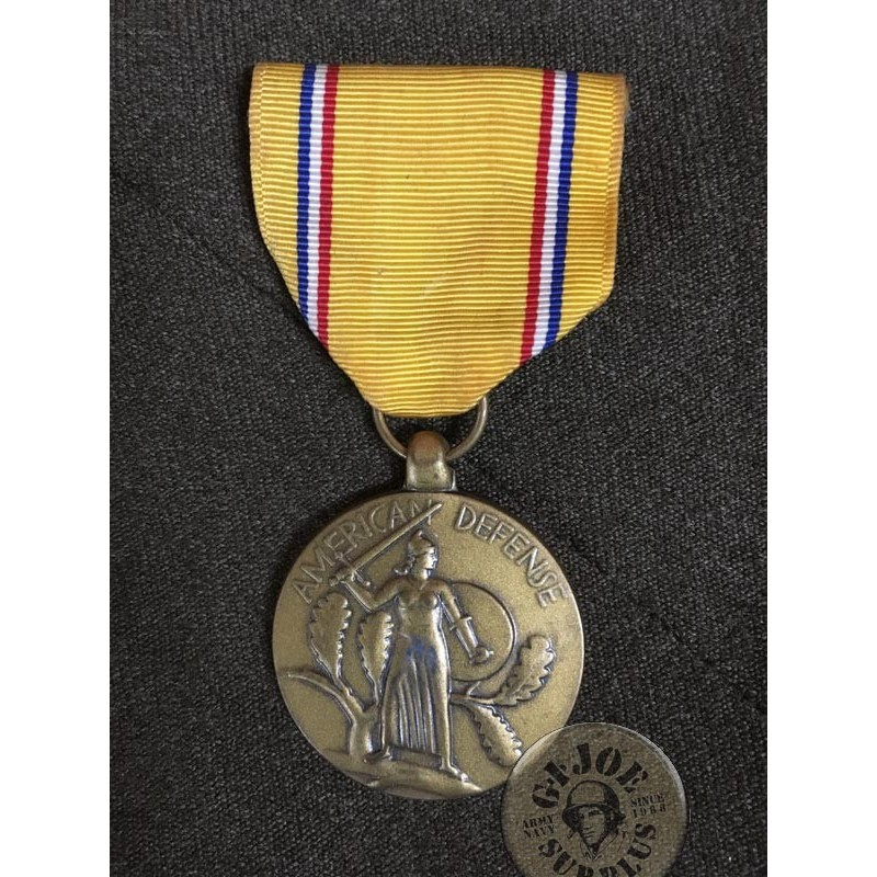 "MEDALLA USA WWII ""DEFENSE OF THE AMERICAS"" USADA /PIEZA UNICA"