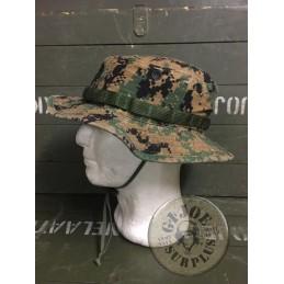 USMC CAP MARPAT WOODLAND USED