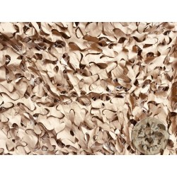 CAMOUFLAGE NET 6X3M 75% SHADE CAMOSYSTEMS PREMIUM/KHAKI COLOUR