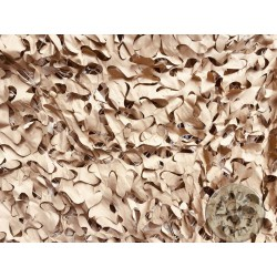 CAMOUFLAGE NET 3X3M 75% SHADE CAMOSYSTEMS PREMIUM/KHAKI COLOUR