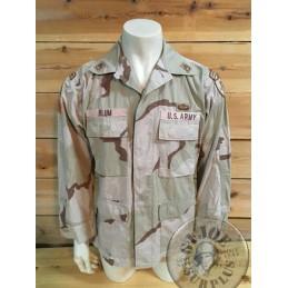 US ARMY SPECIAL FORCES 3 COLORS BDU JACKET /UNIQUE PIECE