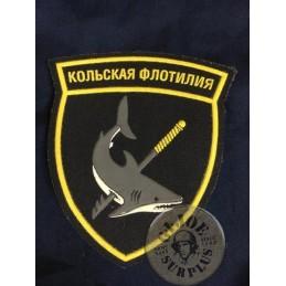 RUSSIAN NAVY PATCHES /KOLSKA FLOTILLA OF THE NORTHERN FLEET