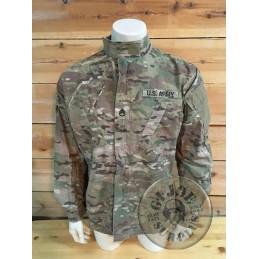 US ARMY ACU MULTICAM JACKET WITH PATCHES /UNIQUE PIECE