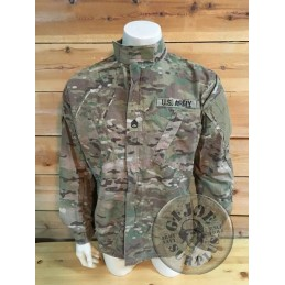 US ARMY ACU MULTICAM JACKET WITH PATCHES /UNIQUE PIECE
