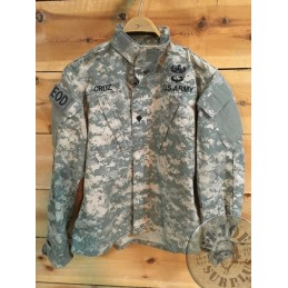"ACU US ARMY COMBAT JACKET ""EOD"" /UNIQUE PIECE"