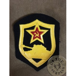 "PARCHE HOMBRO UNION SOVIETICA ""TROPAS BLINDADAS"""