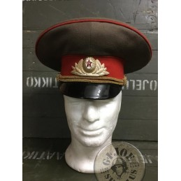 SOVIET UNION ARMY HIGH OFFICER INFANTRY CAP /UNIQUE PIECE