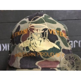 GORRA BASEBALL VIETNAM VETERAN 70´S /COLLECTORS ITEM