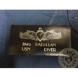 US NAVY DIVED IDENTIFICATION PATCHE /UNIQUE PIECE