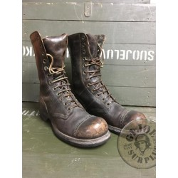 "US ARMY WWII GENUINE ""CORCORAN JUMP BOOTS"" SIZE 7C /UNIQUE PIECE"