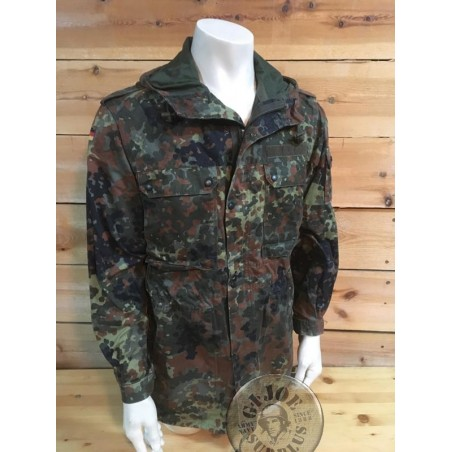 GERMAN ARMY FLECKTARN PARKA UNLINED USED CONDITION