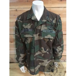 CAC HELICOPTER SHIRT WOODLAND US ARMY SPECIAL FORCES /UNIQUE PIECE