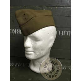 DANISH ARMY WOOL GARRISON CAP USED