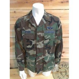 USAF BDU COMBAT JACKET OF A MAJOR DOCTOR /UNIQUE PIECE