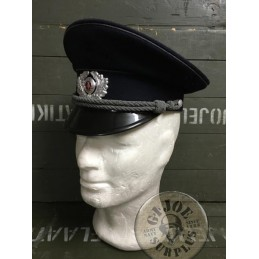 EAST GERMAN POLICE OFFICERS CAP /TRAPO NEW