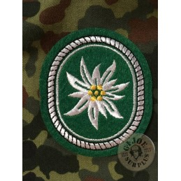 """PARCHE HOMBRO EJERCITO ALEMAN """"EDELWEISS GEBIRSJAGER"""""""
