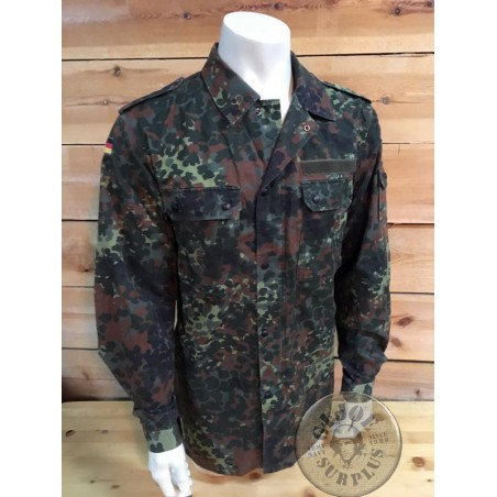 GERMAN ARMY FLECKTARN CAMO UNIFORM NEW /COMBAT JACKET