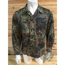GERMAN ARMY FLECKTARN SHIRT USED