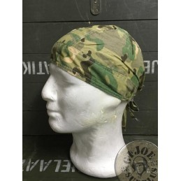 COTTON BANDANA MULTICAM CAMO