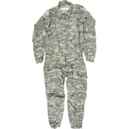 US ARMY CVC COVERALL ABRAMS AT DIGITAL CAMO USED