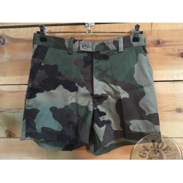 FRENCH ARMY SHORT CEE CAMO NEW