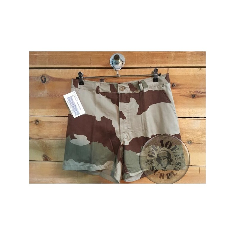 FRENCH ARMY SHORT CEE DESERT CAMO NEW