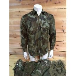 ROMANIAN ARMY M90 CAMO L/SLEEVE SHIRT NEW