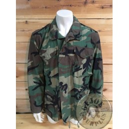 M65 JACKET 3 COLORS WOODLAND CAMO US ARMY NEW