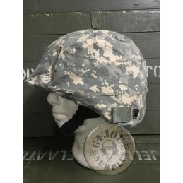 US ARMY PASGT/MITCH HELMET AT DIGITAL CAMO COVERS USED