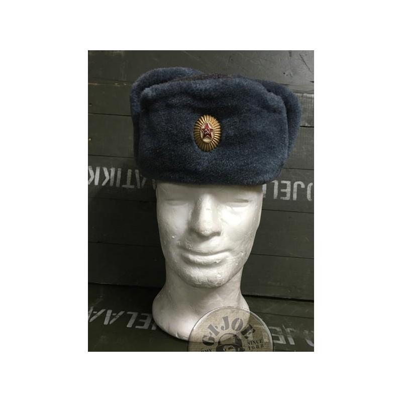 7cf0dd35a3292 SOVIET UNION ARMY GENUINE USHANKA HATS