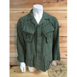 US ARMY JUNGLE FATIGUES JACKET VIETNAM 1967 USED /COLLECTORS ITEM