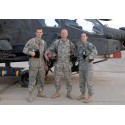 """US ARMY """"HELICOPTERS CAC"""" SET AT DIGITAL CAMO USED TROUSERS+JACKET"""