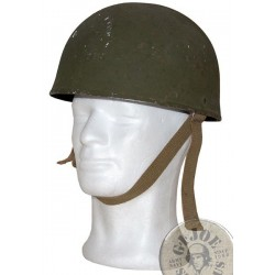 BRITISH ARMY WWII DESPTACH RIDERS IRON HELMET USED CONFITION /COLLECTORS ITEM