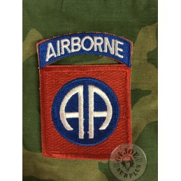 "US ARMY PATCH ""82AB AIRBORNE DIVISION ALL AMERICANS"""