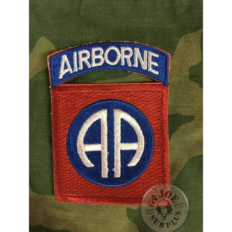 """PARCHE US ARMY """"82AB AIRBORNE DIVISION ALL AMERICANS"""""""