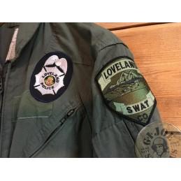 "MONO SWAT POLICIA COLORADO ""CWU 27/P  USAF"" /PIEZA UNICA"