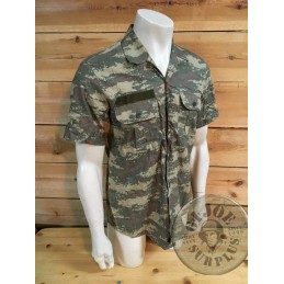 TURKEY ARMY DIGITAL CAMO USED/S/S SHIRT