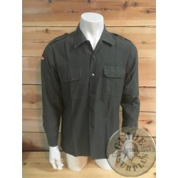 GERMAN GREEN SHIRT USED PERFECT CONDITION