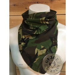 TRIANGULAR SCARF DUTCH ARMY DPM CAMO NEW