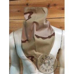 TRIANGULAR SCARF DUTCH ARMY DESERT CAMO NEW
