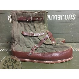SWEADISH ARMY EXTREM COLD WEATHER VINTAGE BOOTS AS NEW